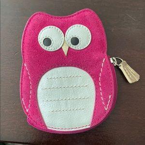 Coach Owl coin purse
